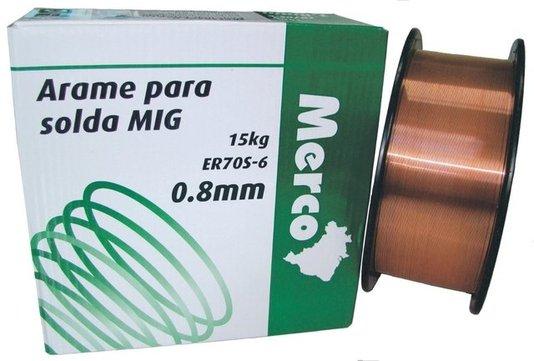Arame Mig 0,8MM (15KG) MERCO