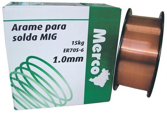 Arame Mig 1,0MM (15KG) MERCO