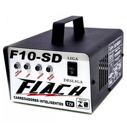 Carregador Inteligente F10 SD - 12V FLACH