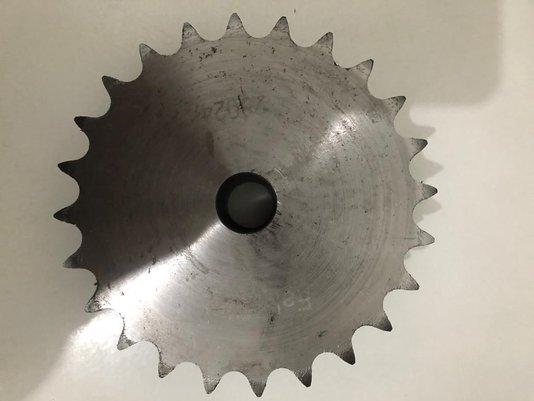Engrenagem para Corrente Dupla ASA 2.50.24 ABT2