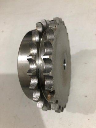 Engrenagem para Corrente Dupla ASA 2.40.25 ABT2