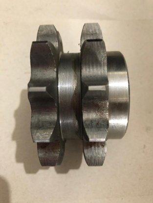 Engrenagem para Corrente Dupla Asa 2.50.13 Abt2