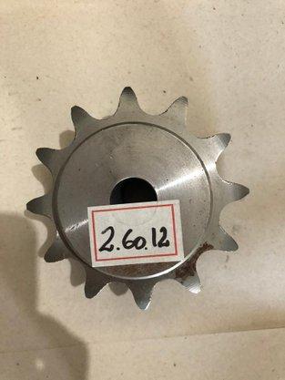 Engrenagem para corrente Dupla ASA 2.60.12 AT2