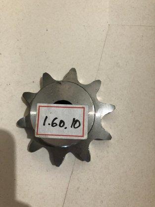 Engrenagem para corrente Simples ASA 1.60.10 ABT2