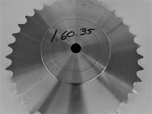 Engrenagem para corrente Simples ASA 1.60.35 ABT2