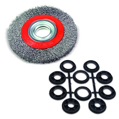 Escova Aço Circular 6X1 ROCAST
