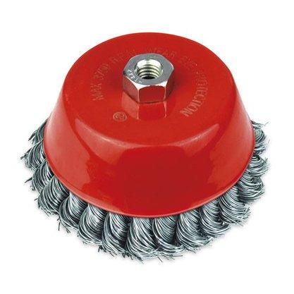 Escova de Aço Trançado Tipo CopoM14 100MMROCAST