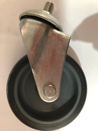 Rodízio Giratório Espiga 412 BP 80KG COLSON